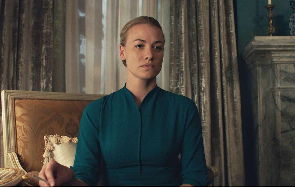 Yvonne Strahovski in 'The Handmaid's Tale'