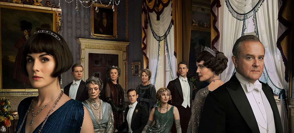 The cast of the 'Downton Abbey' film