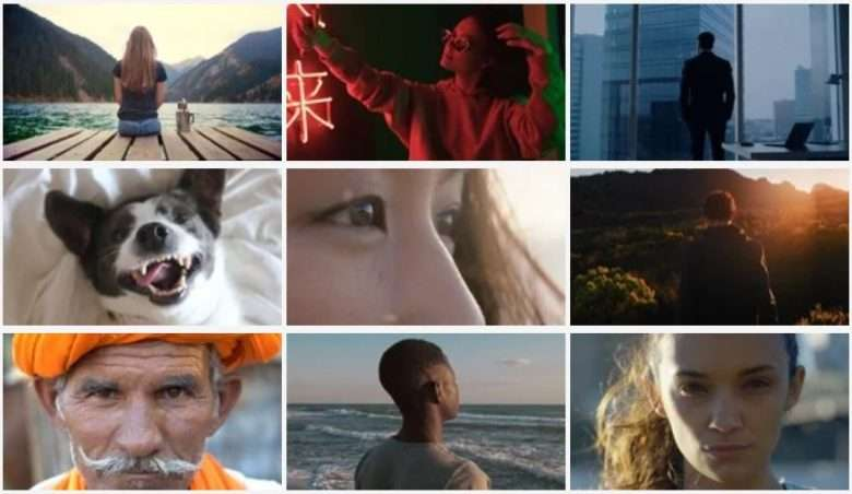 Emotion Stock Footage Collection